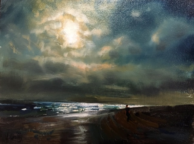 Winter Light, oil on canvas, 31 x 41 cm