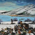 Cappagh Snow by Michael Flaherty: Irish art at The Greenlane Gallery