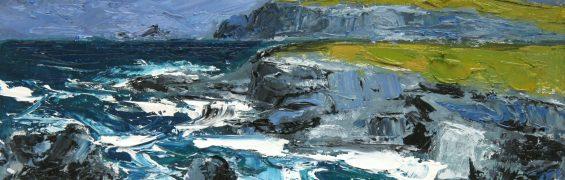 Ceann Sibeal IV, oil on panel, 23 x 33 cm
