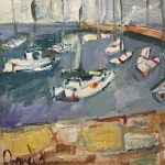 Boats, Dún Laoghaire by Deborah Donnelly