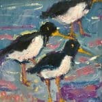 Oystercatchers by Deborah Donnelly
