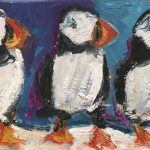 Puffins by Deborah Donnelly