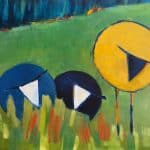 Baa Baa V by Denise Hussey: Irish art at The Greenlane Gallery