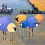Field Flock by Denise Hussey