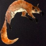 Red Squirrel by Heidi Wickham: Irish art at The Greenlane Gallery