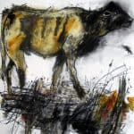 Niamh's Young Bull by Margo Banks: Irish art at The Greenlane Gallery