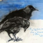 Two Jackdaws by Margo Banks
