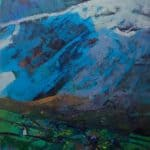 Snow Shadows, Brandon by Patsy Farr: Irish art at The Greenlane Gallery