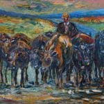 To Fresh Grazing by Liam O'Neill: Irish art at The Greenlane Gallery