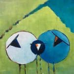 Three Bags Full III by Denise Hussey: Irish art at The Greenlane Gallery