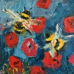 Busy Bees by Deborah Donnelly: Irish art at The Greenlane Gallery