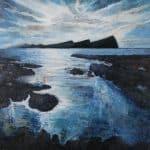 Large – Dorchadas ag Titam – Darkness Falling by Áine Ní Chíobháin