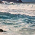 Inis Tuaisceart from Clogher Strand by Cathal Póirtéir