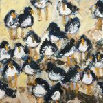 Seabirds by Deborah Donnelly: Irish art at The Greenlane Gallery