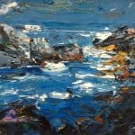 Brandon Bay Shore by Michael Flaherty: Irish art at The Greenlane Gallery