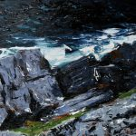 The Worship of Stones II by Exhibition: Moving Dust Through Water by Michael Flaherty