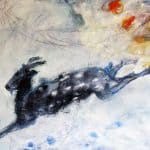 Wild Nanny Goat by Margo Banks: Irish Art by Greenlane Gallery Dingle