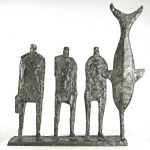 Unloading Fish, Horizontal Edition by Hans Blank: Irish art at The Greenlane Gallery