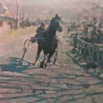 Arriving at the Fair, Ballyferriter by Patsy Farr