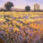 Summer by Vivienne St Clair: Irish art at The Greenlane Gallery