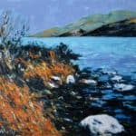 Estuary, Cloghane, Co. Kerry. by Michael Flaherty: Irish art at The Greenlane Gallery