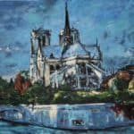 Notre Dame by Michael Flaherty: Irish art at The Greenlane Gallery