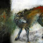 Dream Wolf by : Irish Art by Greenlane Gallery Dingle