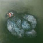 Storm Chicken by Heidi Wickham: Irish art at The Greenlane Gallery