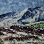 Bog with Brandon Peak by Michael Flaherty: Irish art at The Greenlane Gallery