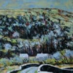 The Bridge, Fermoyle. by Michael Flaherty: Irish art at The Greenlane Gallery