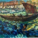 Camino by the Sea, France. by Liam Holden: Irish art at The Greenlane Gallery