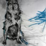 Old Wolf by Margo Banks: Irish art at The Greenlane Gallery