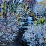 Stream in Spring by Michael Flaherty: Irish Art by Greenlane Gallery Dingle