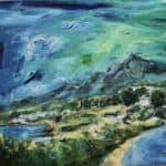 Brandon Peak by : Irish Art by Greenlane Gallery Dingle