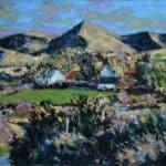 Houses Lower Teer by Michael Flaherty: Irish art at The Greenlane Gallery