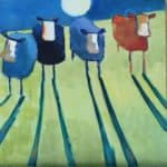 'Hey, diddle diddle' by Denise Hussey: Irish art at The Greenlane Gallery