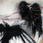 Rook family by Margo Banks: Irish art at The Greenlane Gallery