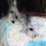 Snow Hares by Margo Banks: Irish art at The Greenlane Gallery