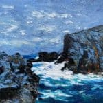Ferriters Cove, Dingle Peninsula -West Kerry. by Michael Flaherty: Irish Art by Greenlane Gallery Dingle