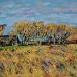 Autumn sky by Michael Flaherty: Irish art at The Greenlane Gallery