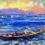 Trathnóna Maicréil by Liam O'Neill: Irish art at The Greenlane Gallery