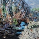 Spring Stream by : Irish Art by Greenlane Gallery Dingle