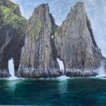 Inis na Bró by Tomás O'Ciobháin: Irish Art by Greenlane Gallery Dingle