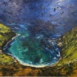 Sauce Creek Expanding into never by Michael Flaherty: Irish Art by Greenlane Gallery Dingle