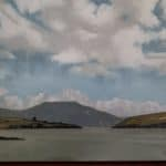 View of Dingle Bay by Hugh Thompson: Irish art at The Greenlane Gallery