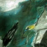 Gannets Finian's Bay by Margo Banks: Irish Art by Greenlane Gallery Dingle