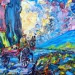 Siar Abhaile by Liam O'Neill: Irish Art by Greenlane Gallery Dingle