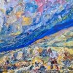 Roimis na Stoirme by Liam O'Neill: Irish art at The Greenlane Gallery