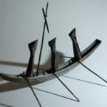 Approaching Skellig Michael by Kevin John: Irish art at The Greenlane Gallery