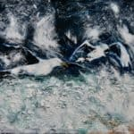 Gulls in the storm, Fermoyle by Michael Flaherty: Irish Art by Greenlane Gallery Dingle
